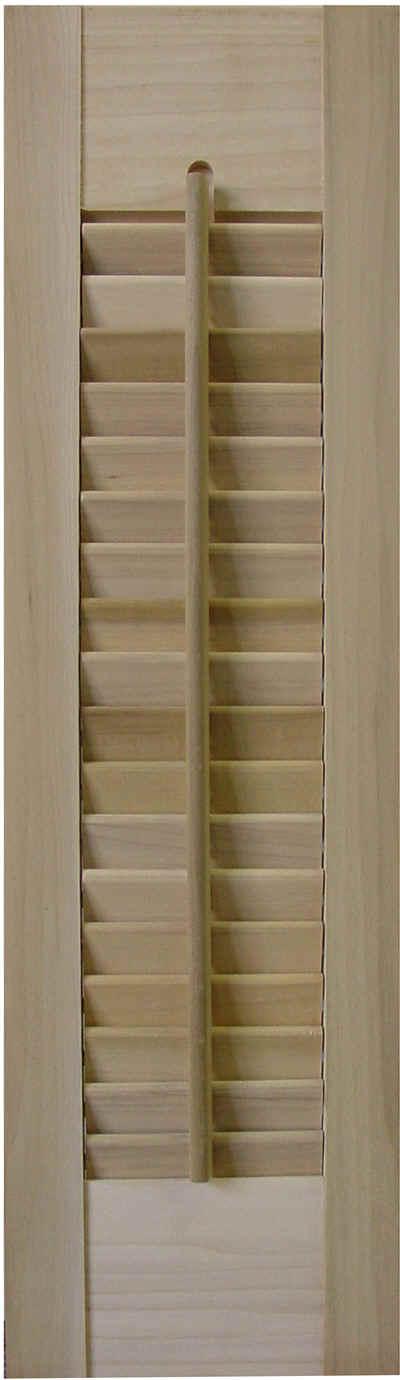 Shuttercraft interior shutters - Unfinished wood shutters interior ...